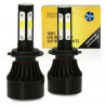 Zestaw żarówek LED H7 S4 COB 80W 16000 lm