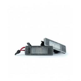 Podświetlanie tablicy rejestracyjnej LED EP122 Peugeot Citroen Nissan