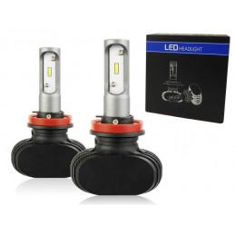 Żarówki LED 2x H11 K2 COB 12000Lm Dzień/Noc