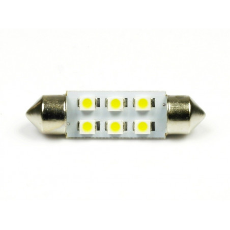 Żarówka LED C5W 6 SMD 1210 Rurka 36mm