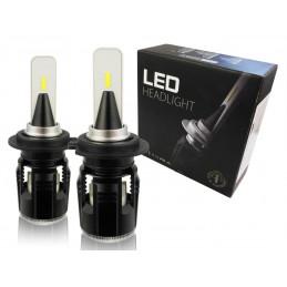 Zestaw żarówek LED H7  CSP 40W 12000 lm B5 B6