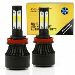 Zestaw żarówek LED H11 H9...