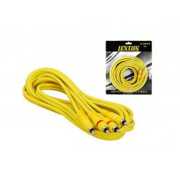 Przewód Kabel 2 wtyki RCA -...