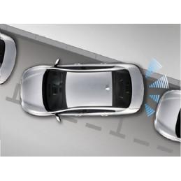 Peiying Białe  czujniki parkowania z wyświetlaczem (tył)