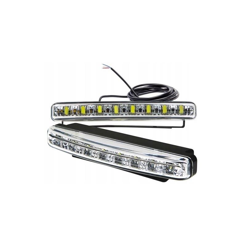 Światła do jazy dziennej LED z kierunkowskazami – diody SMD