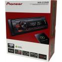 Pioneer MVH-S120UB Cyfrowy radioodtwarzacz z tunerem RDS, USB, Aux-in